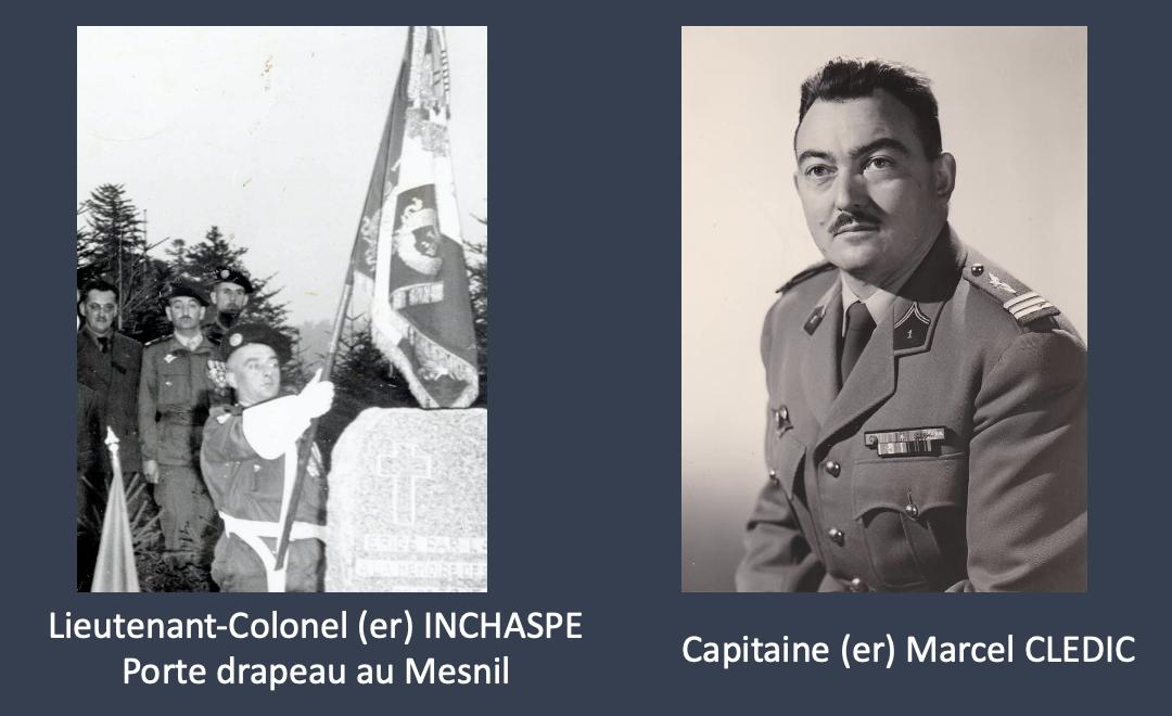 Ordre du Jour N°32 du Colonel SIMONNEAU, Commandant le 1er R.C.P  – Décès Lieutenant-Colonel (er)  Vincent INSCHASPE et du Capitaine (er) Marcel CLEDIC