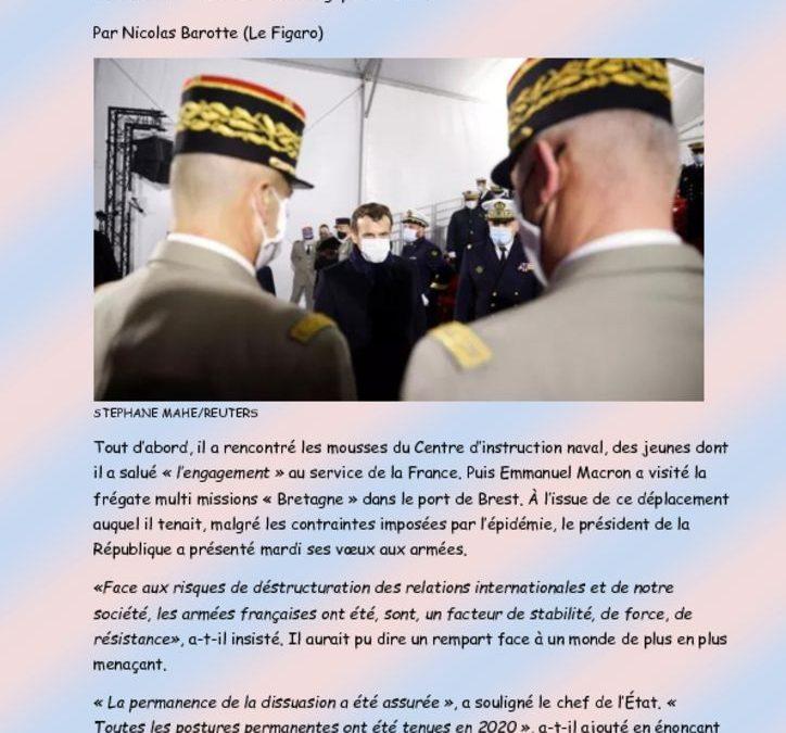 Voeux du Chef de l'Etat aux Armées
