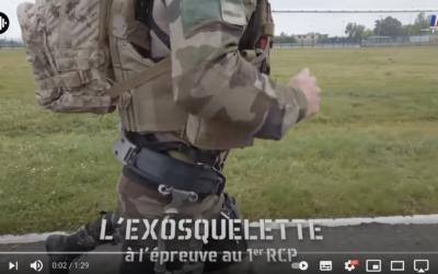 L'exosquelette – une réalité pour les commandos parachutistes du 1er RCP